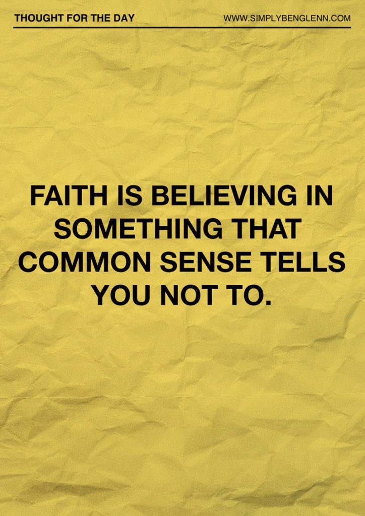 FaithisBelieving